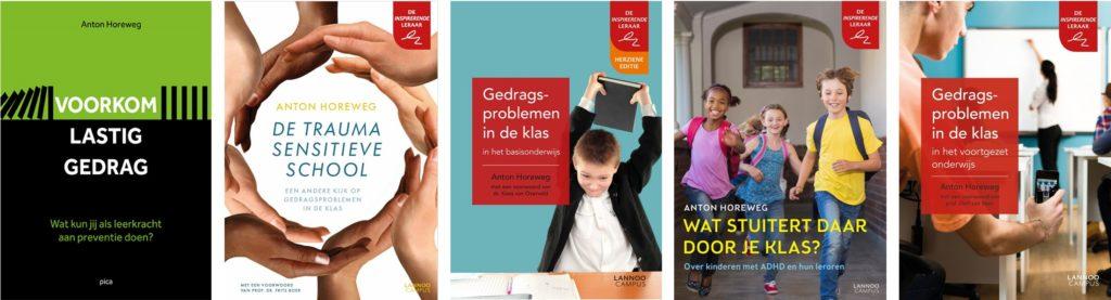 Boeken Horeweg Voorkom lastig gedrag Gedragsproblemen in de klas De traumasensitieve school