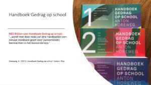 Handboek Gedrag op school Horeweg 2021